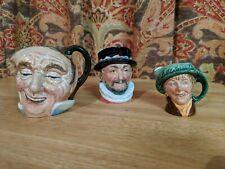 Royal Doulton Mini Character Jug Pitcher Porcelain, Small