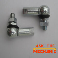 2 x 10mm Ball & Socket Joint M6 Right Hand Thread Linkage - H2