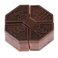 Boîte Serrure Octogonal Puzzle Classique en Métal Casse-tête Amusant