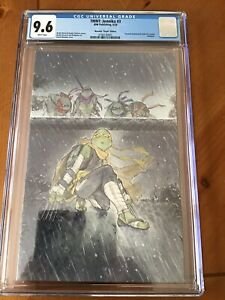 Teenage Mutant Ninja Turtles:Jennika #3 Momoko Virgin Variant CGC 9.6 2020 IDW