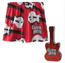 GUITAR HERO ~ Boxers Sleep Shorts in Tin ~ Sz L ~ NEW