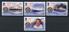 St Helena 2018 MNH RMS St Helena Final Voyage 4v Set Boats Ships Stamps