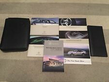 OEM 2005 05 MERCEDES C CLASS WAGON OWNERS MANUAL COMPLETE BOOK SET W/CASE