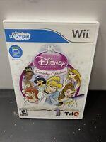 Nintendo Wii u Draw Disney Princess Enchanting Storybooks Game