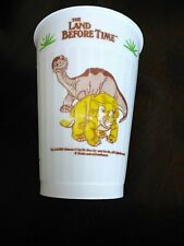 Land Before Time Littlefoot Collector's Cup 1988 vintage Ziploc brand give-away