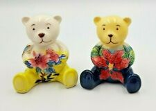 Old Tupton Ware Bear Teddy With Flowers TW6921