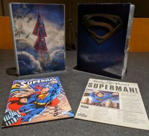 Superman Film Anthology (1978-2006) 13 DVD set. Region 3