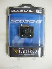 Scosche Fmtd2 Digital tuneFreq Wireless Fm Transmitter Factory Sealed !