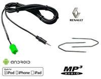 Cable Auxiliaire Autoradio Renault Update List + Cles Demontage
