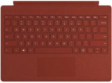 Microsoft Surface Pro Signature Type cover funda con teclado mod Ffp-00112 rojo