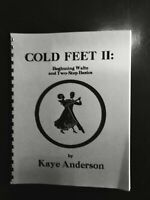COLD FEET II: Beginning Waltz and Two Step Basics book