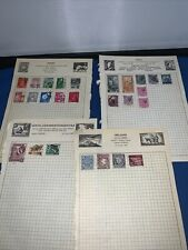 Stamp Collection Israel Palestine Japan Kenya Ireland Italy Kenya Uganda