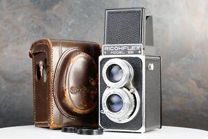 :Rioch Ricohflex Model IIIb 6x6 120 TLR Medium Format Camera w/ Case