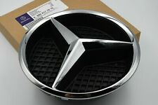 Mercedes-Benz A B C E GLA GLK CLA CLS ML Chrome Star Badge Emblem and Base