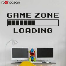 Gamer Wall Sticker Game Room Play Room Decoration Removable Decor Wall Decal