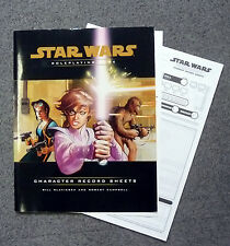 star wars role playing game character record sheets