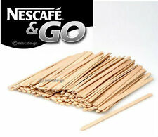 More details for nescafe and & go - 1000 wooden stirrers 5.5