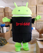 Custom Logo Android Robot Mascot Costume Complete Suit For Company Activity