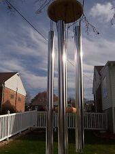 "Chapel Church Bells Deep Resonant Tone Pipe 31"" Windchime Wind Chime Relax"