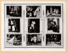 XXL  PHOTOGRAPH  -  FILM  STARS  -  LILIAN  GISH  -  SHOWING  9  STILLS  -  1923