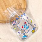 1Pc Mini Portable 250ml Transparent Hot Water Bottle Winter Water Injection BagB
