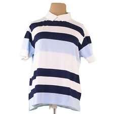 Balenciaga Tops Blouses White Blue Woman Authentic Used P648