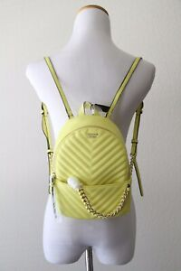 Victoria's Secret Pebbled V-Quilt Small City Backpack 3923 34