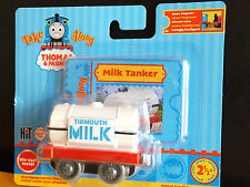 NEW Take Along/Take-n-Play Thomas 'TIDMOUTH MILK TANKER' LC76104 - RARE