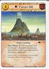 3 x Visenya's Hill AGoT LCG 1.0 Game of Thrones Secrets and Spies 92