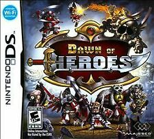 Dawn of Heroes NEW factory sealed for Nintendo DS system