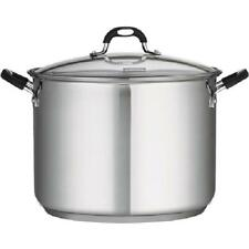 Tramontina 18/10 Stainless Steel 16-Quart Covered Stockpot W