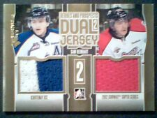 SAM REINHART  13/14 AUTHENTIC DUAL 3-COLOR PIECE OF GAME-USED JERSEYS /10