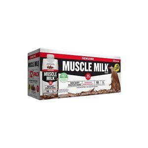Muscle Milk Genuine Non-Dairy Protein Shake Chocolate 11 fl. oz. 12 pk.