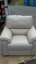HSL Leather Recliner NQP Ex Display Chair New LOCAL Delivery Save ££££ SALE