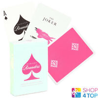 MADISON ROUNDERS PINK ELLUSIONIST BICYCLE PLAYING CARDS DECK MAGIC TRICKS USPCC