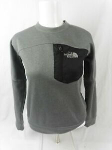 The North Face Grey Jumper Boy's Large with Chest Pocket
