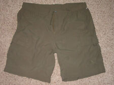 Mens The North Face Paramount 2 AUOW Green Cargo Shorts! Size XL