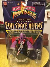 POWER RANGERS VAMPIRUS EVIL SPACE ALIENS MOC BY BANDAI TOYS