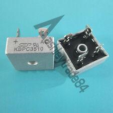 5PCS KBPC3510 Manu:SEP Encapsulation:35A 1000V Metal Case Bridge Rectifier