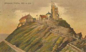 Berghütte: Riesengebirge Krkonose Snezka gl1927 104.430