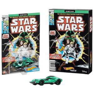 SDCC 2021 Mattel Exclusive Hot Wheels Star Wars Green Darth Vader Car Presale