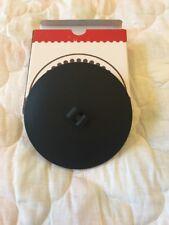 Velata Scentsy Fondue licorice pedestal warmer lid round black NIB