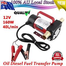 Electric Oil Extractor Pump Diesel Transfer Fuel Suction for Car Boat Engine NEW