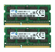 8GB For Samsung 2X 4GB DDR3L 1600Mhz 2RX8 PC3L-12800 204Pin SODIMM Laptop Memory
