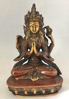 Brass Heavy Antique Tara Showpiece Figurine Statue Home Decorative Shamanism
