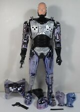 ROBOCOP HUGE 18'' PLASTIC POSEABLE B/O ACTION FIGURE METALLIC PURPLE WORKS