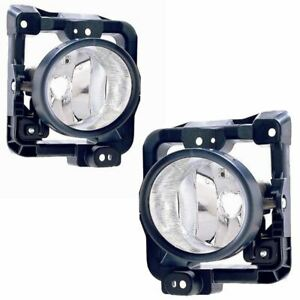 For Honda Accord 2008-2011 Front Fog Lights Lamps 1 Pair O/S & N/S Left & Right