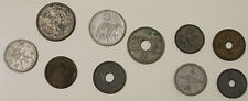 Lot of 10 Old Japanese Coins, Showa Era, Shōwa period, Japan Vintage Money Rare