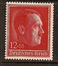 GERMANY 1938 HITLER SC # B118 MNH