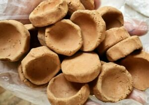 Mini Clay pots-Very earthy, muddy, crunchy, easy to bite off, non gummy